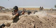 إشتباكات غنيفة بين القوات العراقية وتنظيم الدولة في مدينة الموصل