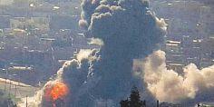 مقتل 14 شخصا في قصف للتحالف الدولي على منزل في وسط الغرب الموصل