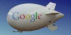 جوجل تعمل على منطاد يتسع لحظيرة طائرات