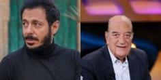 """حسن حسني ينتهي من تصوير مشاهدة في """"أبو جبل"""" مع مصطفى شعبان"""