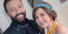 """أحمد فهمي وماغي بو غصن من كواليس تصوير مسلسل """"بروفا"""""""