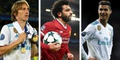محمد صلاح ضمن القائمة الثلاثية لمرشحي أفضل لاعبي أوروبا في الموسم الماضي