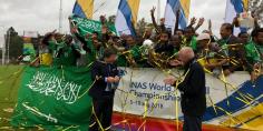 المنتخب السعودي يتوج بطلا لكأس العالم لكرة القدم لذوي الإعاقة للمرة الرابعة على التوالي