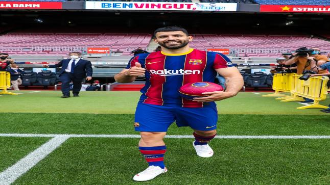 رسميًا أجويرو إلى برشلونة في صفقة انتقال حر