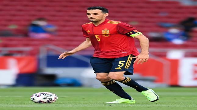 سلبية مسحة لاعبي منتخب إسبانيا والجهاز الفني مع إستمرار إيجابية مسحة سيرجيو بوسكيتس